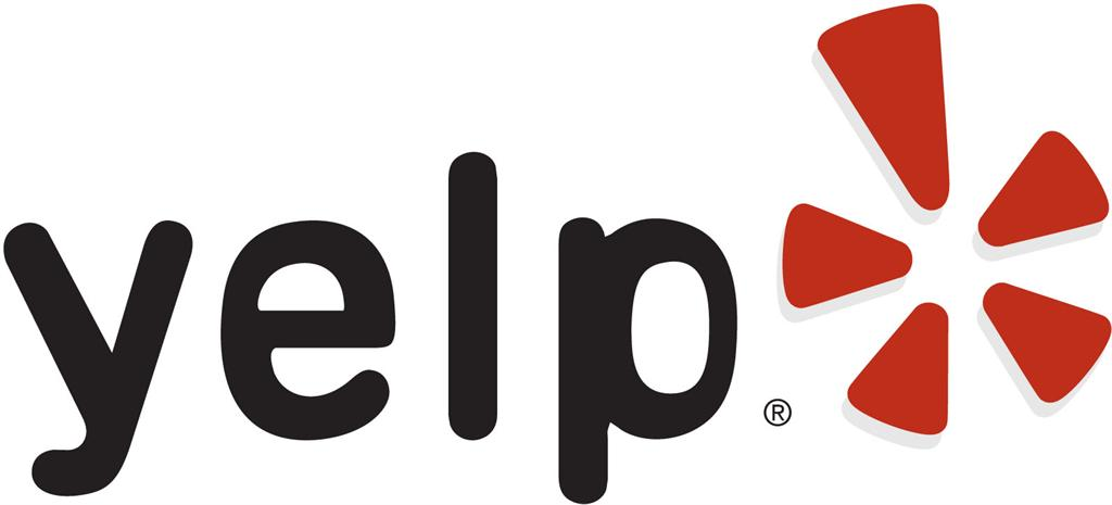 yelp logo no outline color